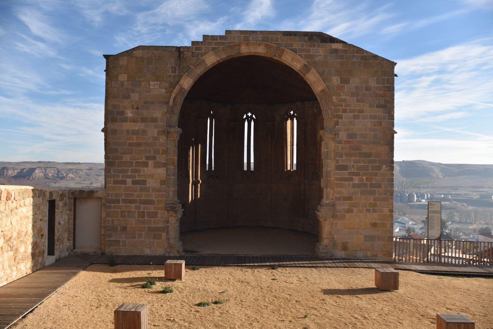 Ábside de Santa María de Atienza